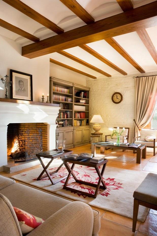 Stebbing house desing salones con chimenea - Salones con chimenea ...