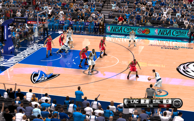 Mavs HD Court | NBA 2K14 PC Mod