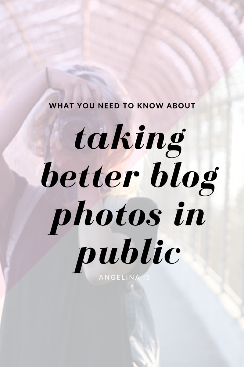 Everything you need to know about taking better photos in public.
