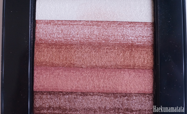 Bobbi Brown Bronze Shimmer Brick Review and Swatch3