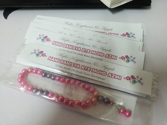 tasbih custom made