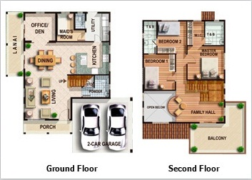 Philippines bungalow s and floor plans small house plans for Bungalow house floor plan philippines