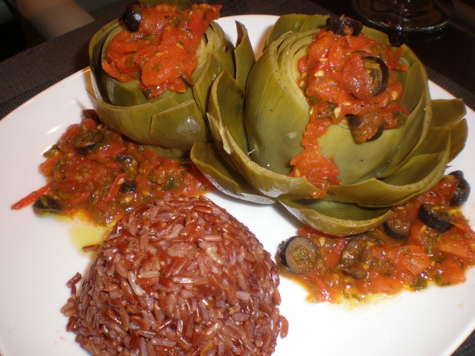 La cuisine de radisjoli recettes et propos culinaires - Cuisiner les artichauts ...