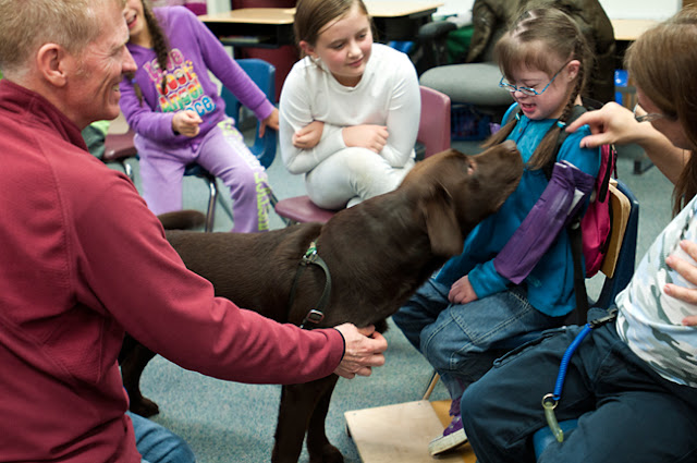 The Benefits of Therapy Dogs in Classrooms and on College