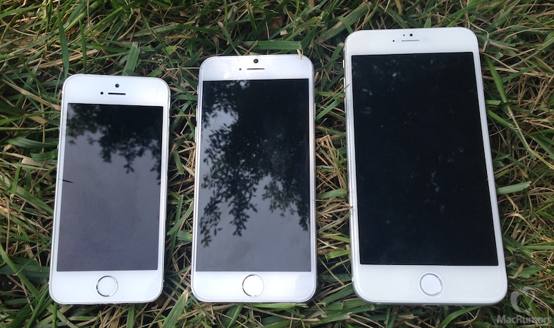 Mockups do iPhone 6