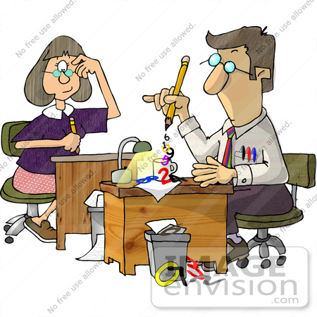 Accountant Clip Art3