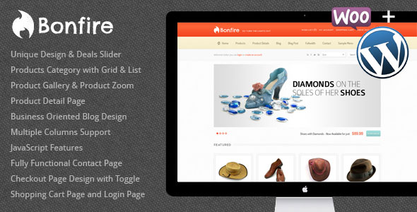 Image for Bonfire – eCommerce Theme by ThemeForest