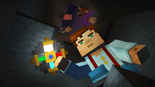 Minecraft Story Mode v1.15 APK + OBB (Unlocked All Eps)