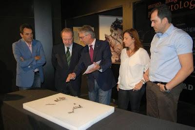 Presentación nuevo fósil Fundación Dinópolis Teruelictis riparius