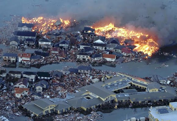 japan tsunami and earthquake. Earthquake and Tsunami Hit