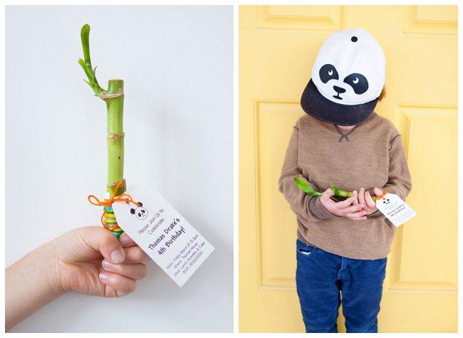 Armelle Blog Panda Birthday Party Invitations