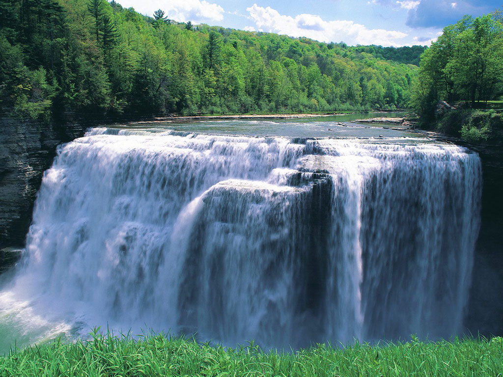 The Biggest Waterfall In The World Okay Wallpaper