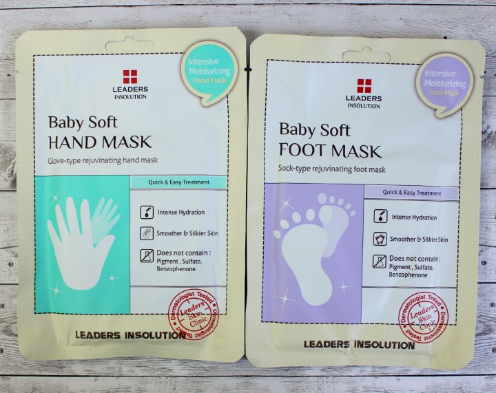 Leaders Insolution Dr. Therapy Hand Mask & Foot Mask