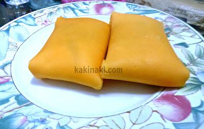 cara buat crepe durian, crepe durian,resepi crepe durian,durian crepe