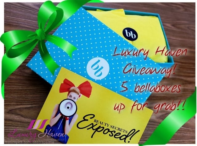 luxury haven bellabox giveaway