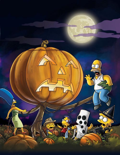 special halloween simpsons horror show
