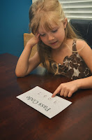using a pass code to teach important numbers as a part of before kindergarten skills