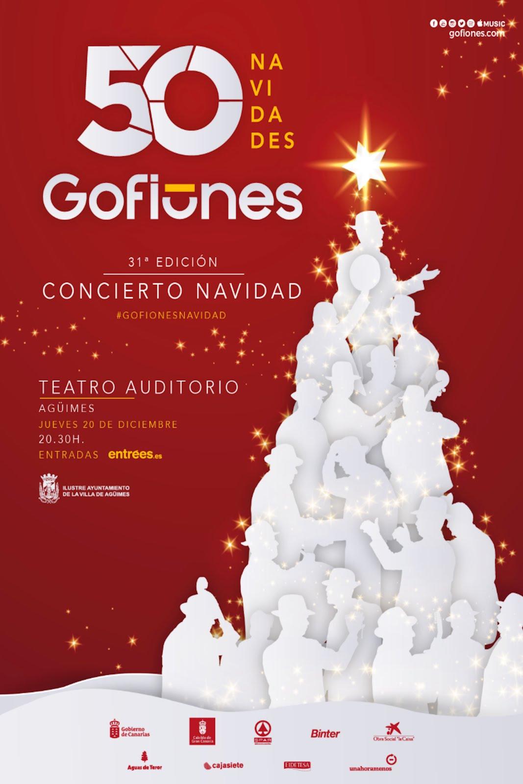 Concierto de Navidad de Los Gofiones