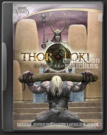 Thor & Loki Blood Brothers (DVDRip Inglés Subtitulada)
