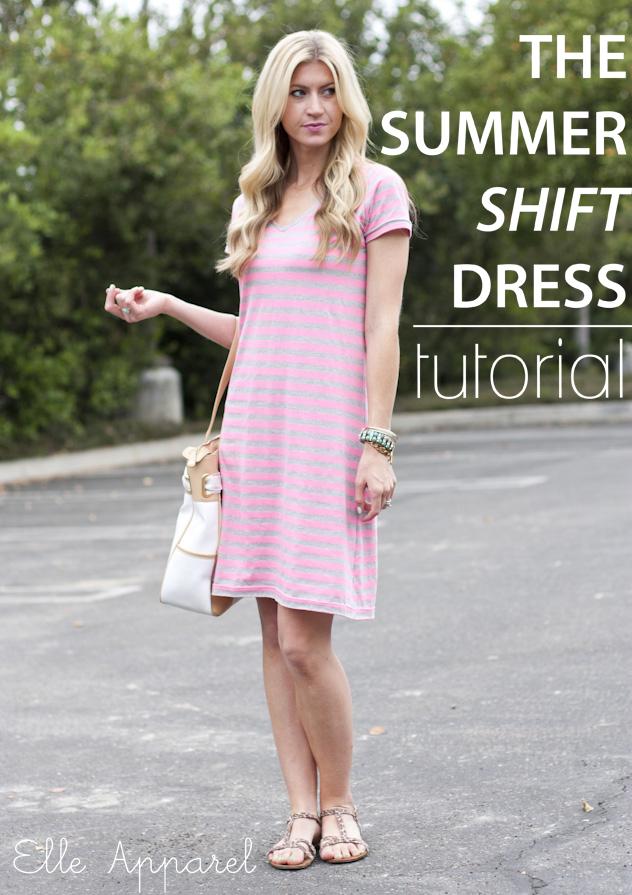 Jersey Shift Dress Pattern Jersey Shift Dress Pattern