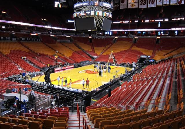 America Airlines Arena Miami NBA