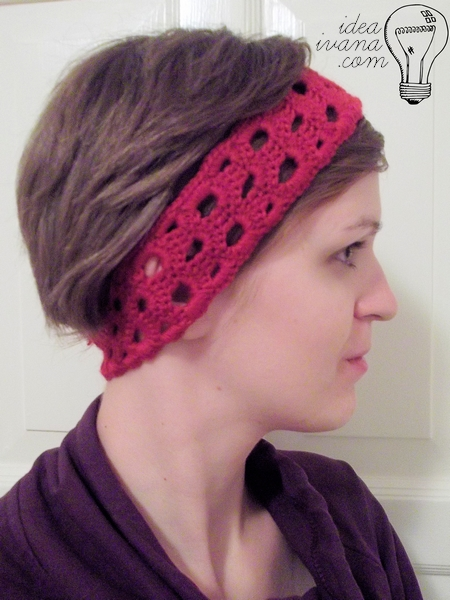 Headband crochet pattern free