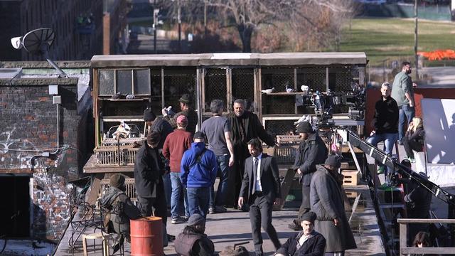 映画「ジョン・ウィック2」 ローレンス・フィッシュバーン