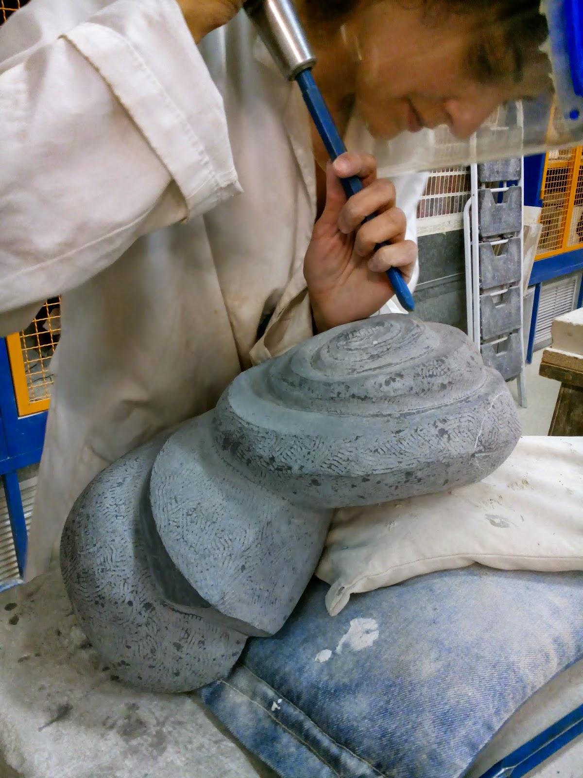 Taller de talla en piedra escuela de arte la palma - Herramientas para piedra ...