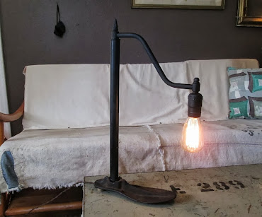 Edison bulb Industrial Lamp iron Shoe Form