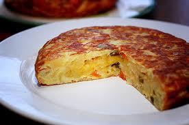 العجه الإسبانية  من اكلات سحور رمضان