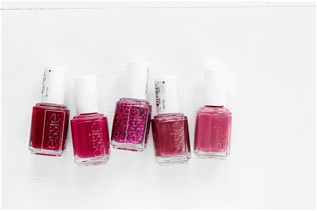 essie purple shades