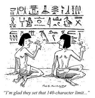 Hilarious Joke Cartoon Image Egypt Hieroglyphics Twitter