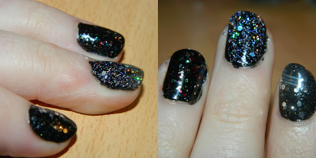 barry m 333 black multi glitter