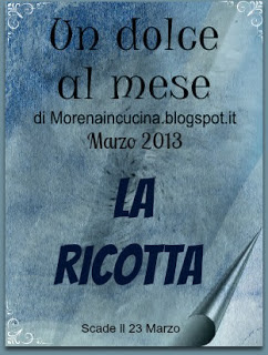 "Contest ""Un dolce al mese"":"