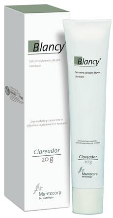 Vaidade Derme: Blancy* Gel Creme Clareador da Mantecorp