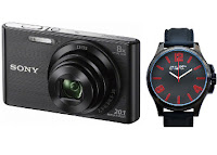 Buy Sony Cybershot W830 20.1MP Combo with UCB Watch at Rs 7,618 :Buytoearn