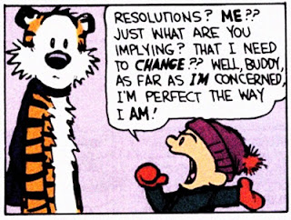 Calvin and Hobbes - resolutions