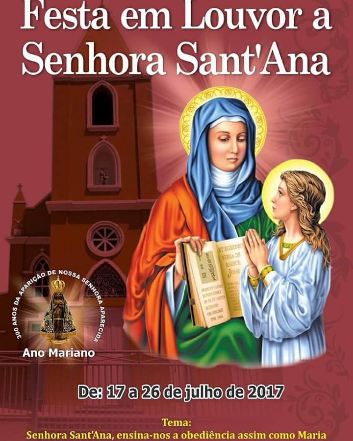 Festa em Louvor a Senhora Sant'Ana