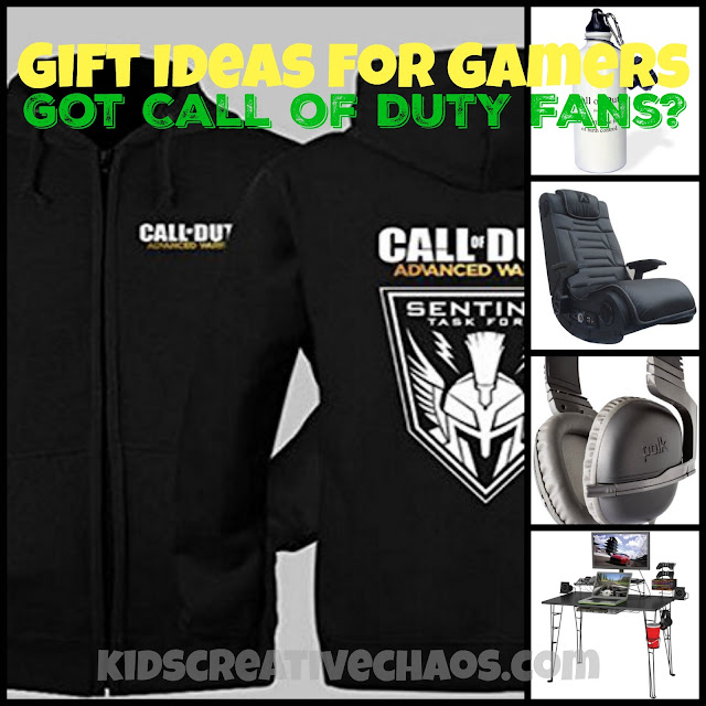 Gift ideas for Call of Duty Fans Video Gamers