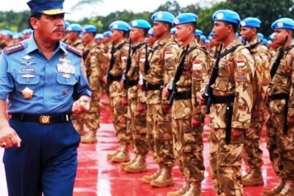 Satgas Kompi Zeni TNI Kontingen Garuda XX-J/MONUSCO