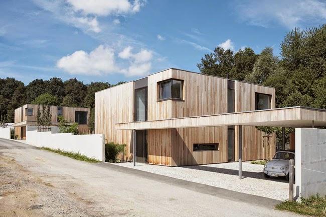 casa cubo minimalista minimal style cube house