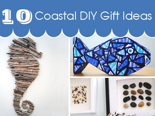 coastal gift ideas: diy projects