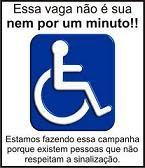 VEJAM QUANDO A VAGA É DELES!!