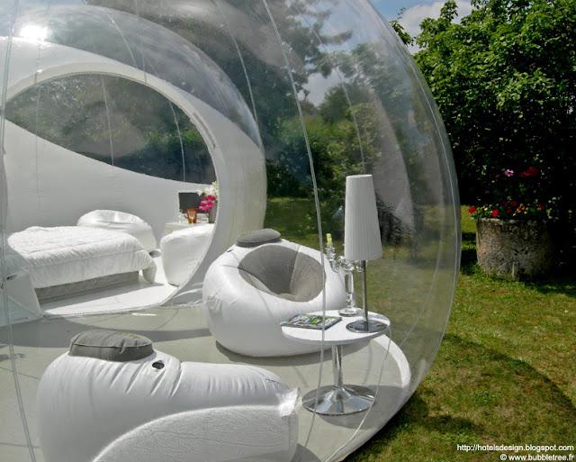 Les plus beaux hotels design du monde cristalbubble by for Design hotel des francs garcons saint sauvant