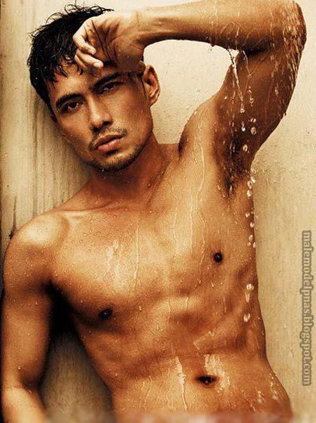 Asian men model