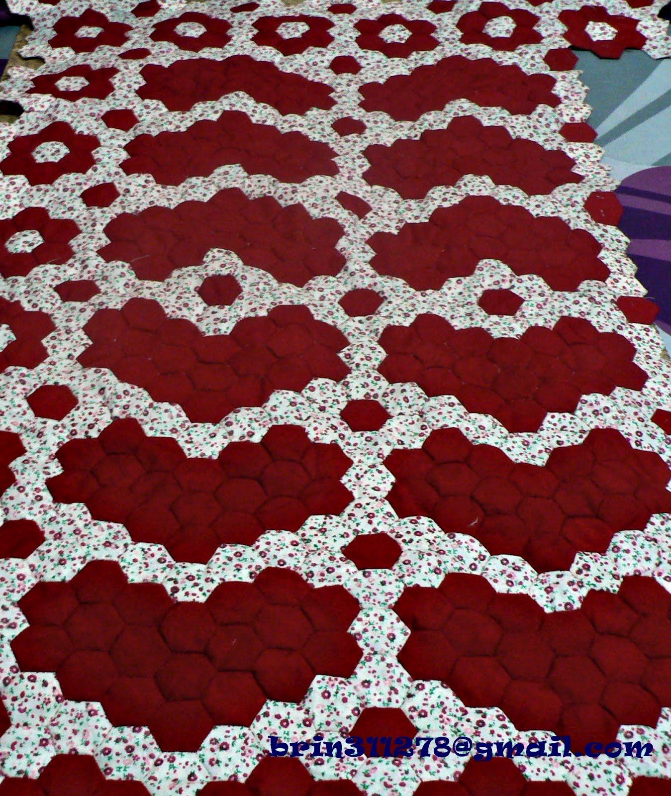 selimut tampung seribu yang ketiga yang dihasilkan menggunakan jahitan