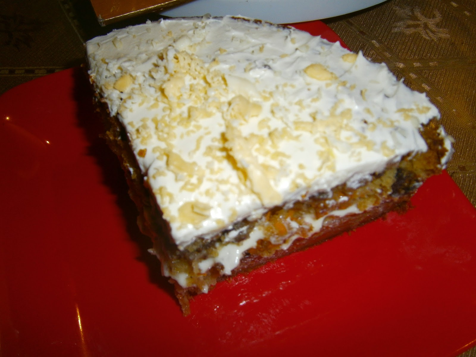 Resepi : Cheezy Carrot Cake Chef Amer