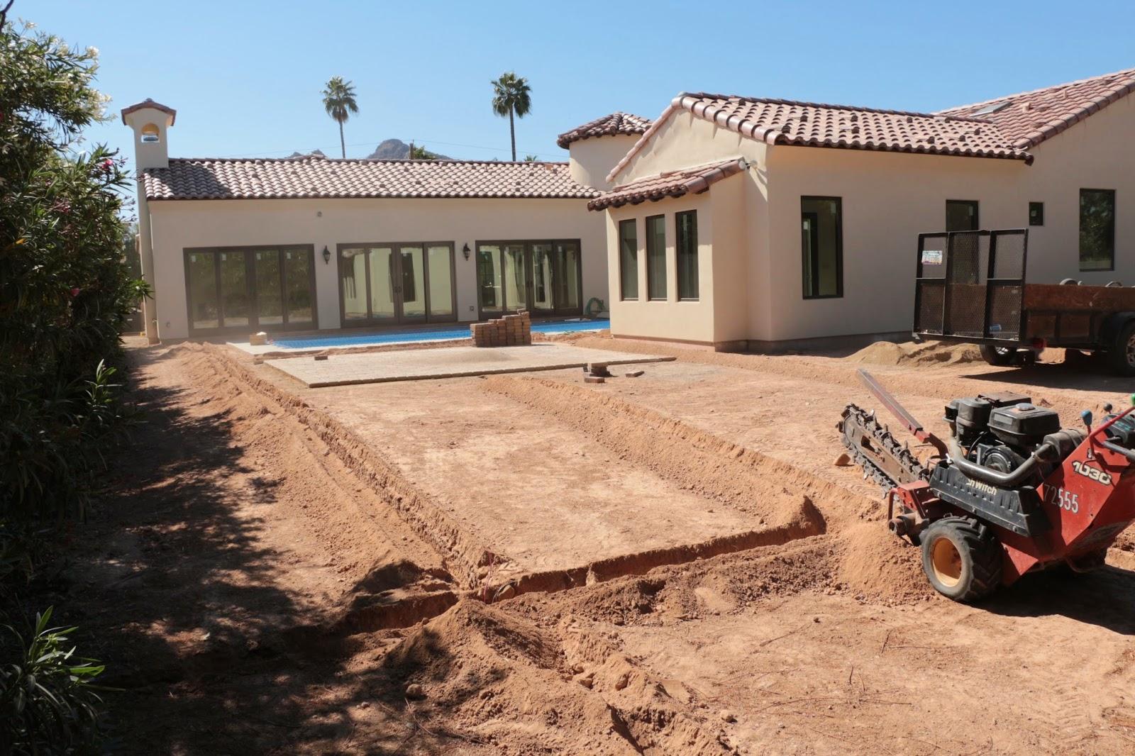 installing landscape sprinklers