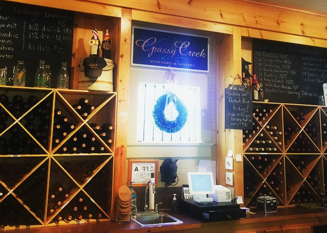 Grassy  Creek Vineyard and Winery in Surry County