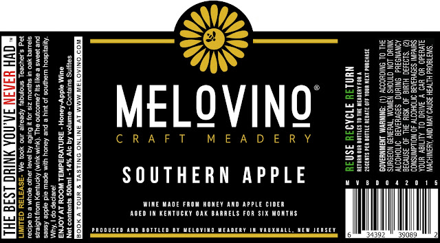 Melovino Meadery, Mead, Southern Apple